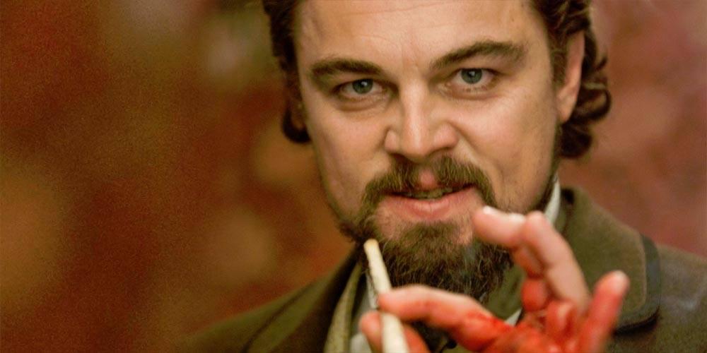Leonardo DiCaprio en Django sin cadenas