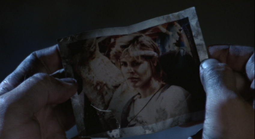 Sarah Connor final de Terminator 1984