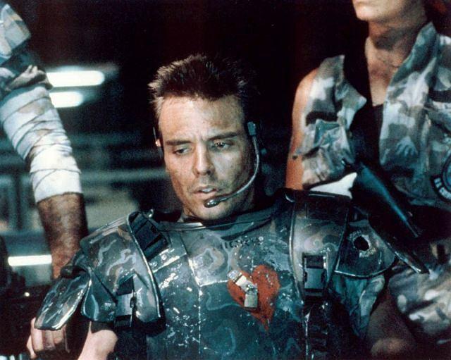 Michael Biehn en Alien 2: El regreso