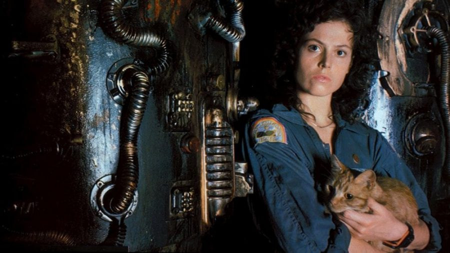 Actriz de Alien Sigourney Weaver