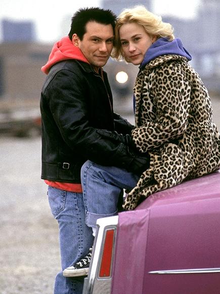 Christian Slater y Patricia Arquette en amor a quemarropa