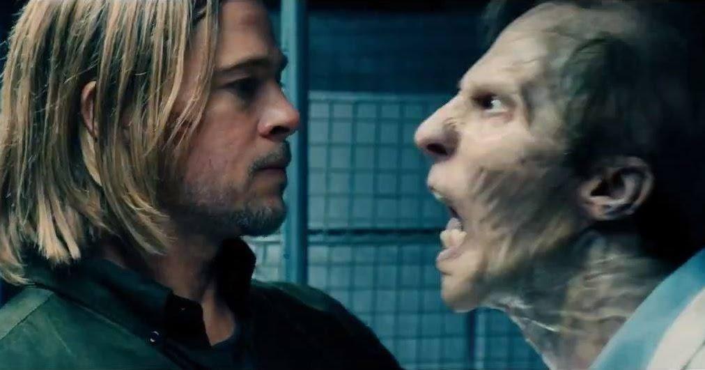Brad Pitt película con zombies