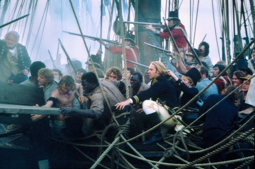 Batalla de naval en Master and Commander: Al otro lado del mundo