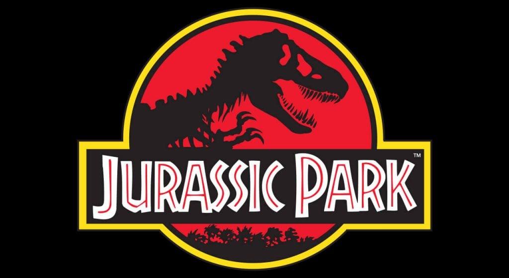 Parque jurásico logo emblema de la película