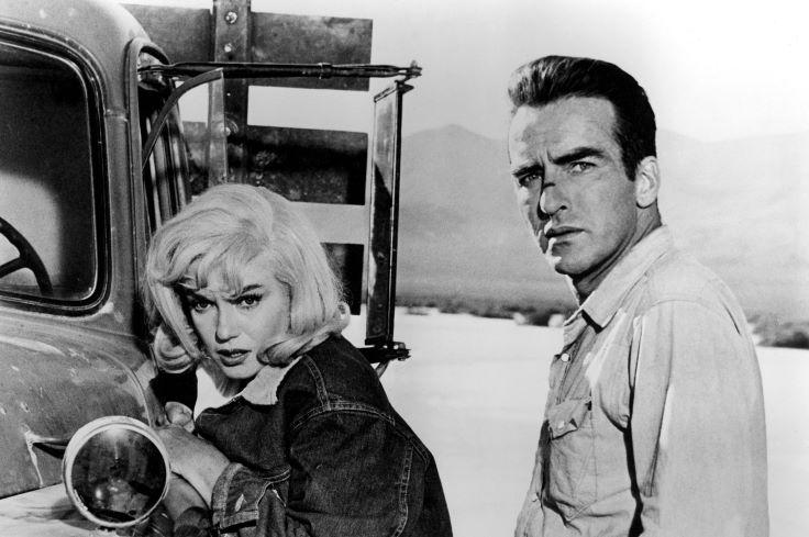 Reparto Marilyn Monroe y Montgomey Clift