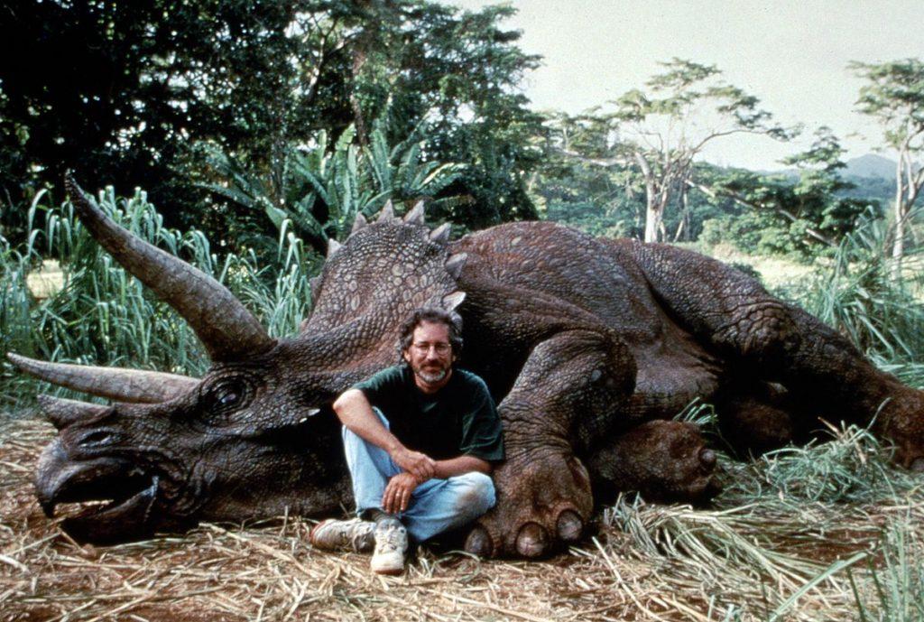 parque jurásico Steven Spielberg
