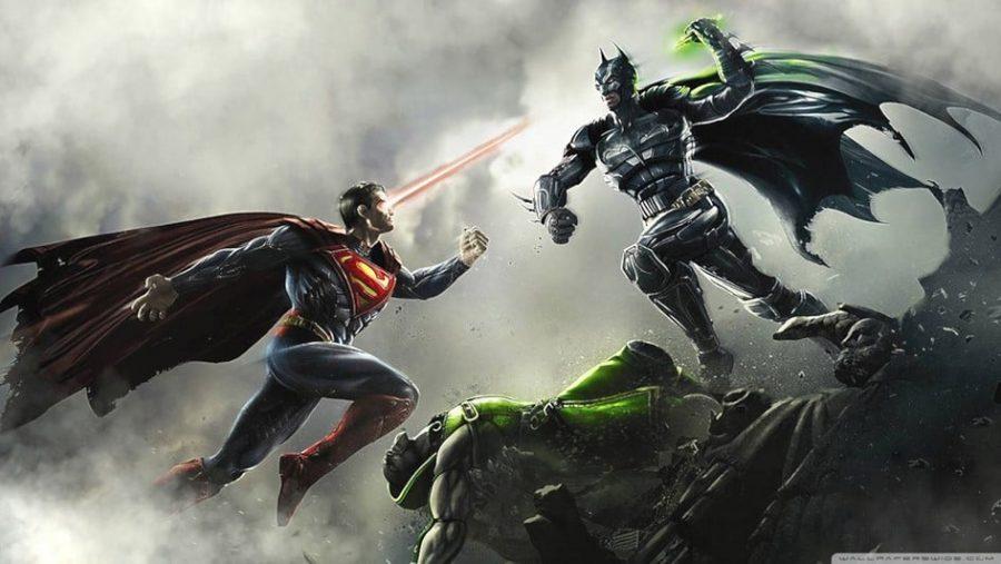 Comic Batman VS Superman