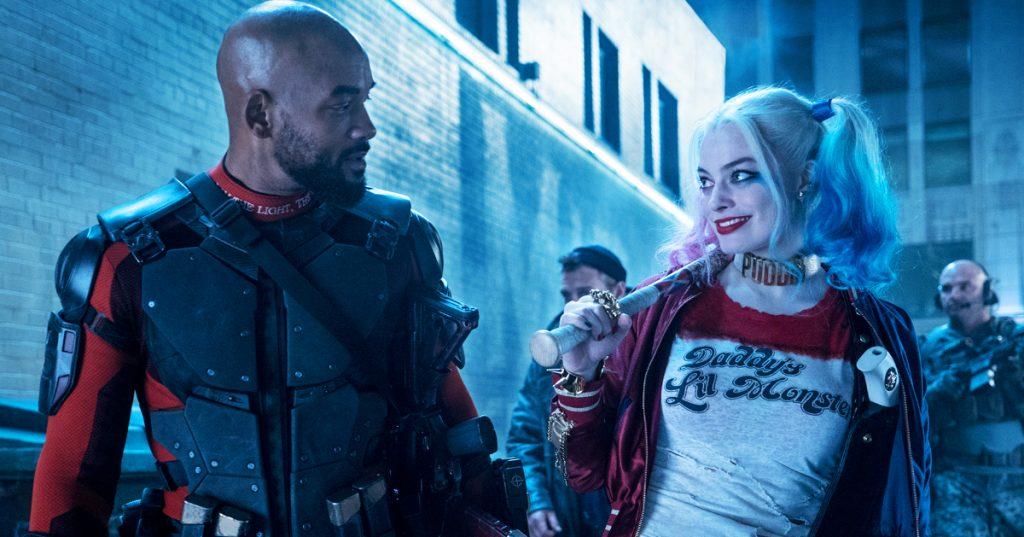 Deadshot y Harley Quinn en escuadrón suicida