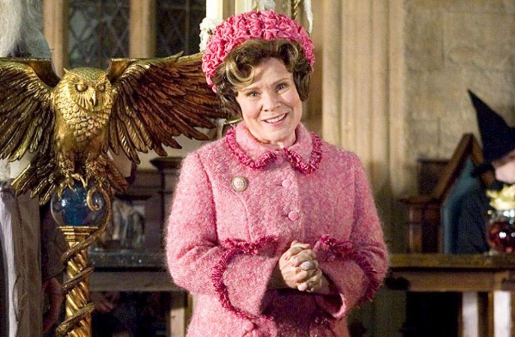 Harry Potter y la orden del fénix directora de Hogwarts Dolores Umbrige