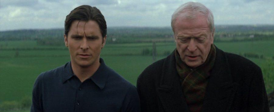 Batman begins Chrisitian Bale y Michael Caine Batman y Alfred Batman inicia
