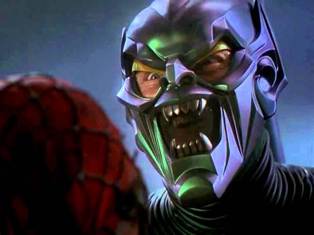 El duende verde película Spider-man 2002