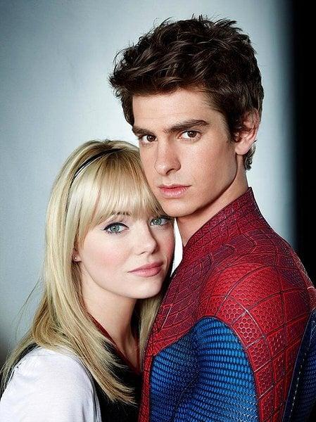 Emma Stone y Andrew Garfield en El sorprendente hombre araña