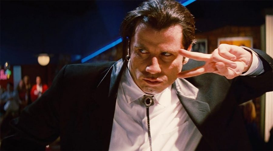 John Travolta en Pulp Fiction