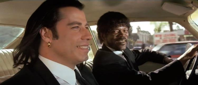 Protagonistas de pulp fiction