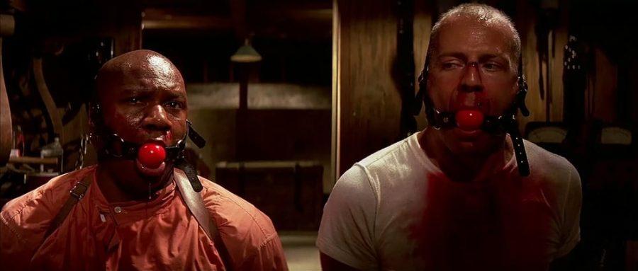Ving Rhames y Bruce Willis