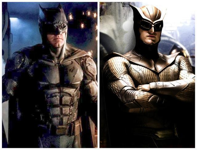 Parecido entre buho nocturno y Batman