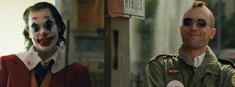 El Joker y Taxi Driver películas