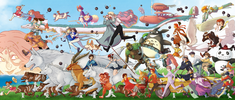 Studio Ghibli Películas orden cronológico