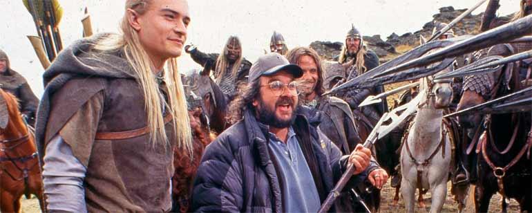 Legolas Peter Jackson y Aragorn