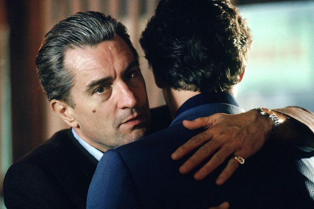 Actor Robert De Niro mafioso