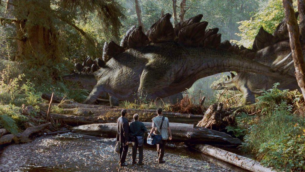 Placas en el lomo del Stegosaurus