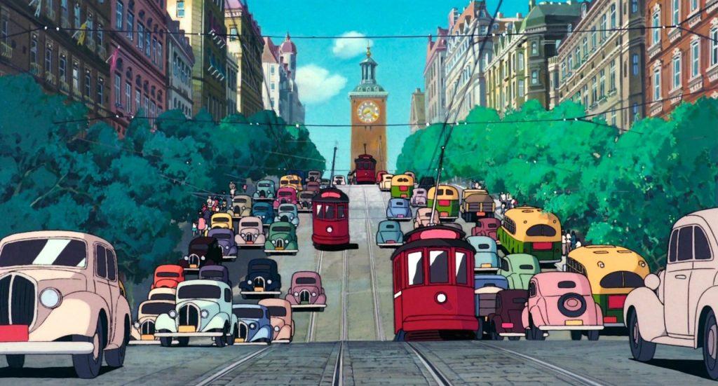 Concepto artístico de una ciudad europea