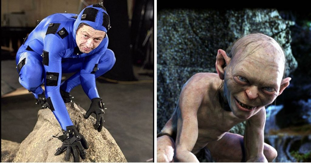 Andy Serkis es Gollum