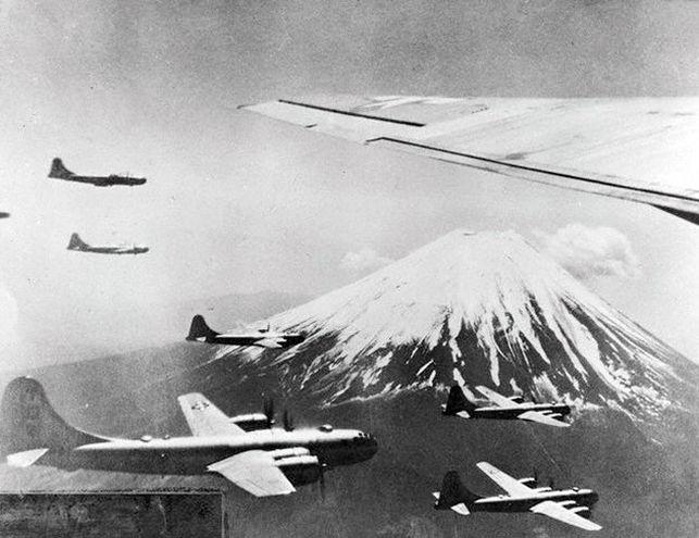Bombardeos a Japón historia