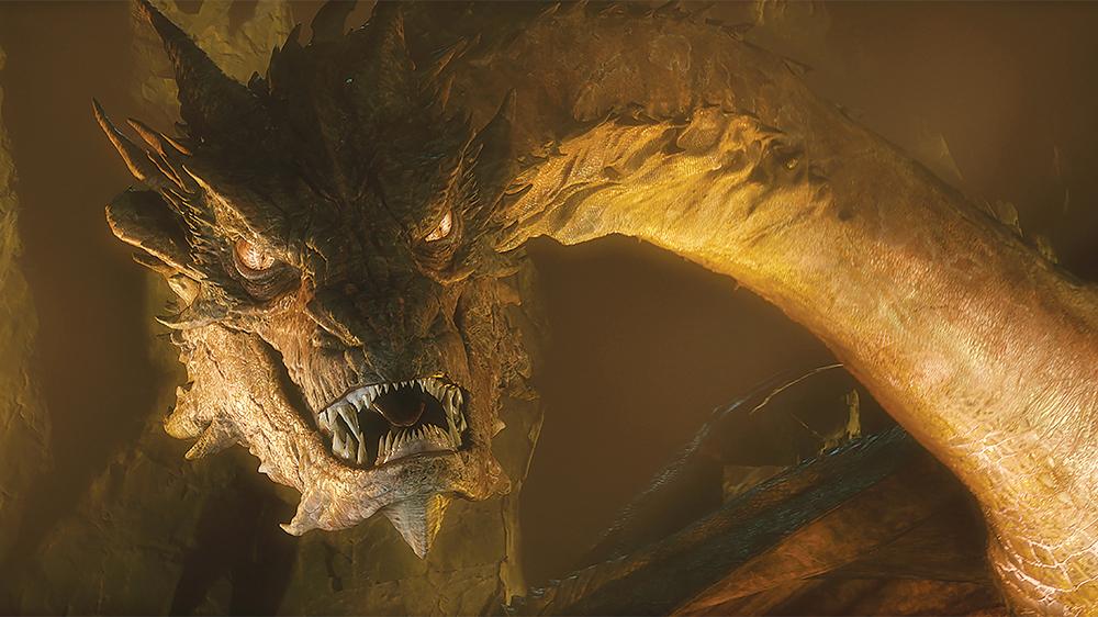 Dragón Smaug el Hobbit