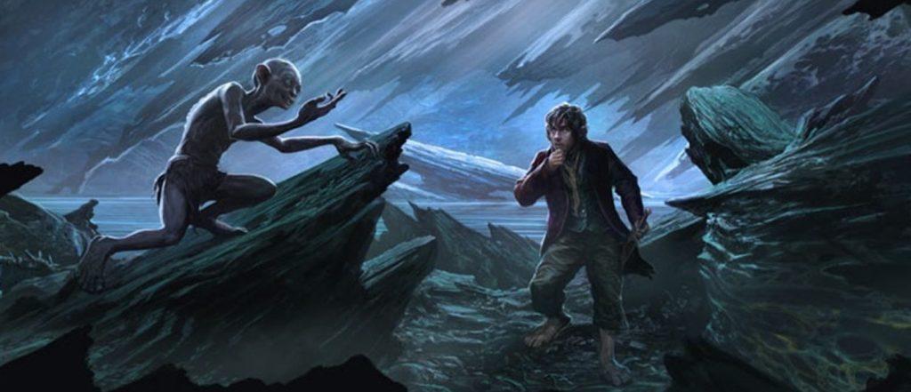 Juguemos a las adivinanzas Bilbo y Gollum