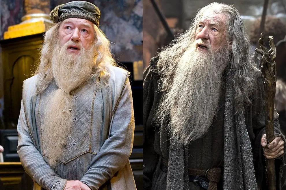 Dumbledore y Gandalf su parecido