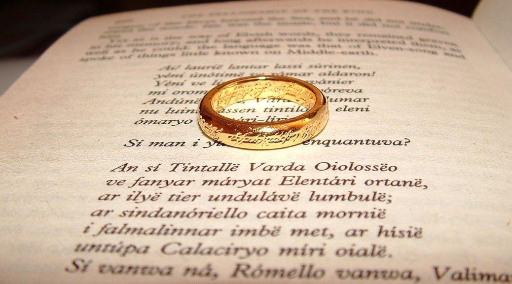 El señor de los anillos y la biblia