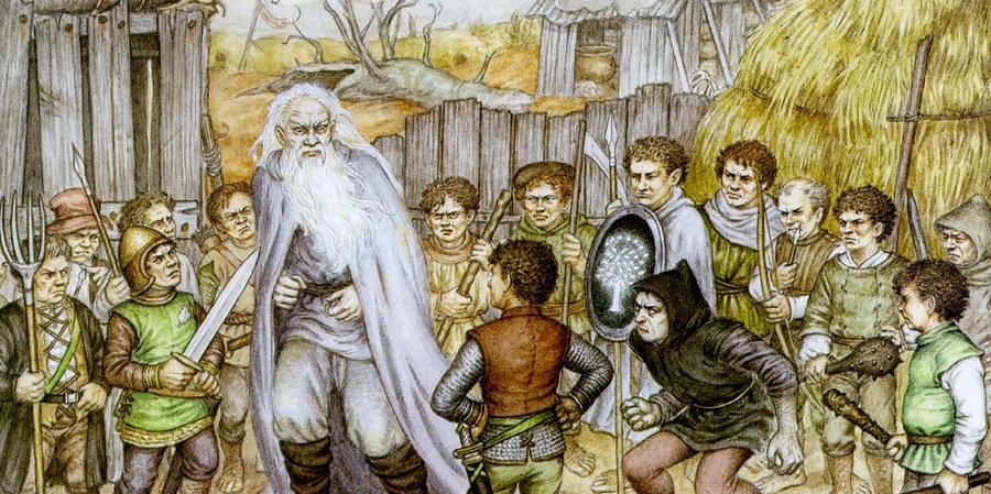 ¿Cómo murió Saruman?