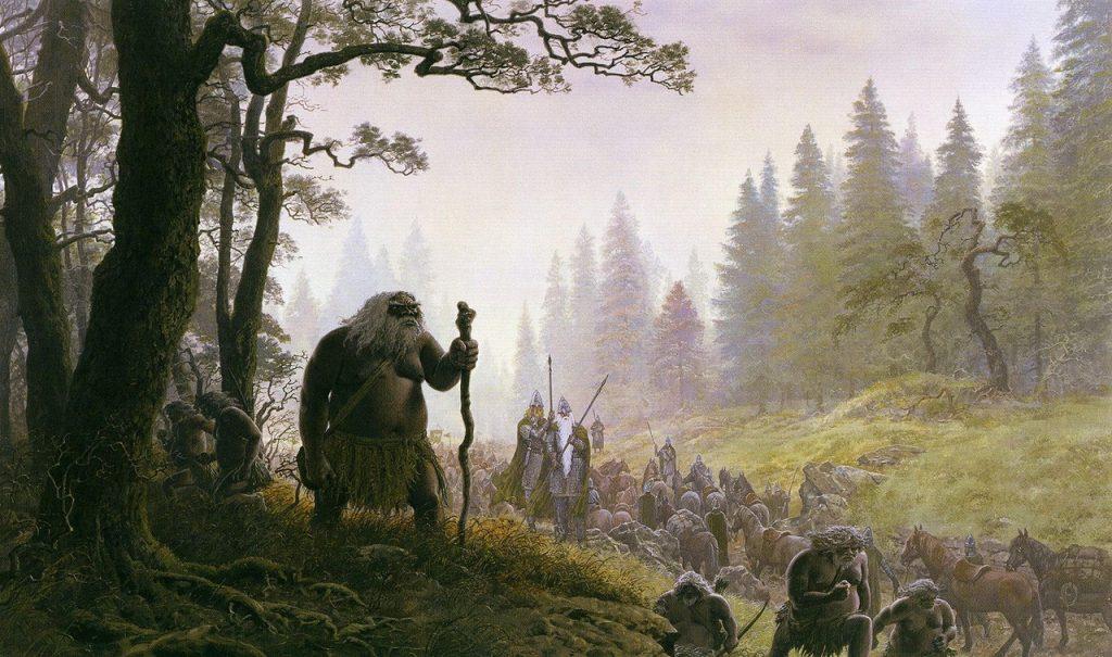 Los hombres del bosque el señor de los anillos