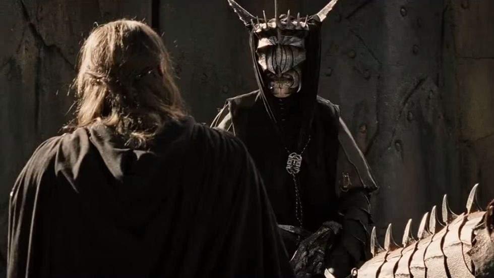 La boca de Sauron El señor de los anillos el Retorno del rey