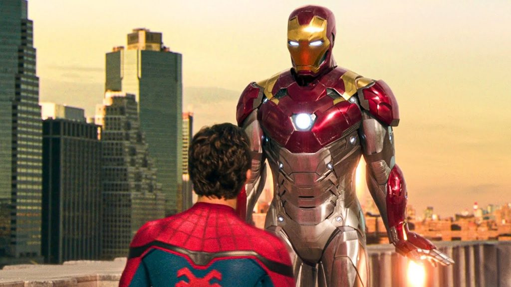 Iron Man y Spider Man