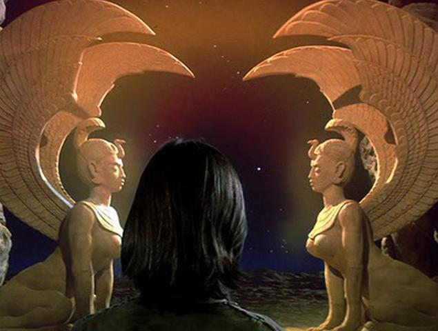 Película la historia sin fin escenas mágicas fantasía
