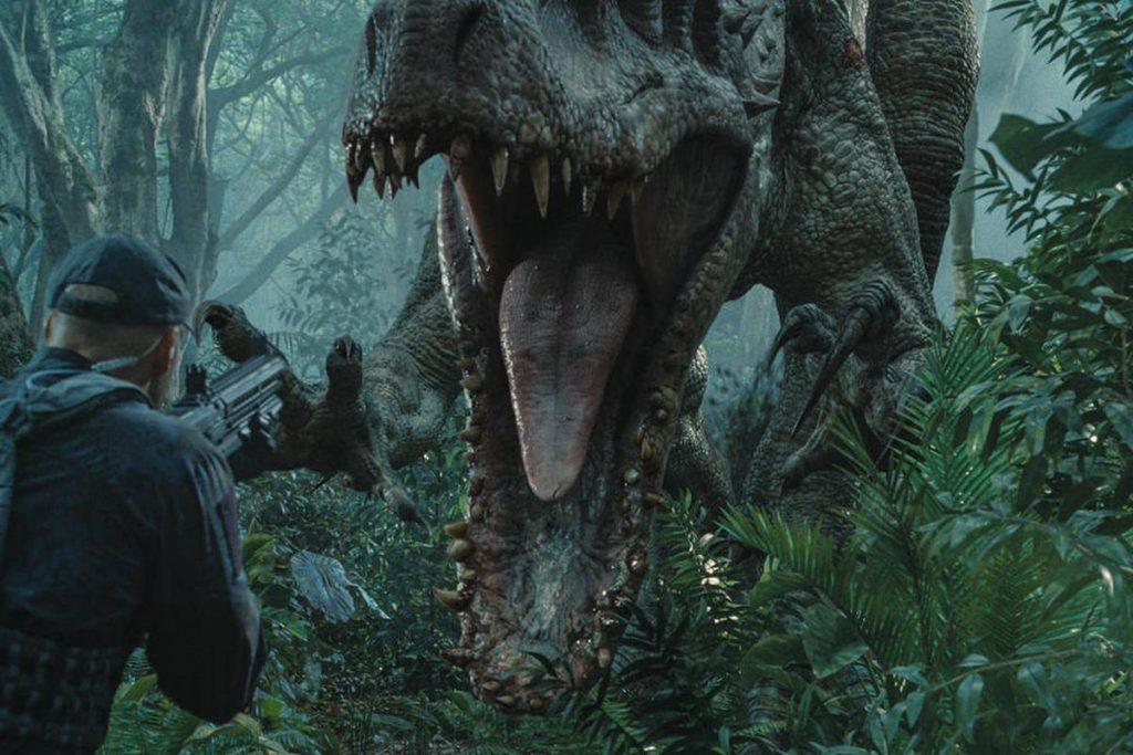 Dinosaurio de Parque Jurásico 3