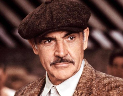 Sean Connery actor interpretando a Jim Malone