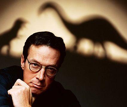 ¿Quién escribió Jurassic Park?
