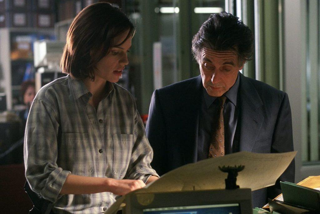 Al Pacino y Hilary Swank reparto film insomnio