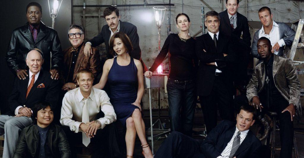 Ocean's twelve elenco de actores la nueva gran estafa