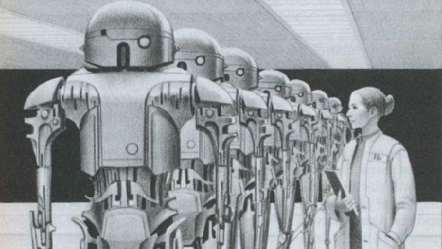 Susan Calvin Yo, Robot