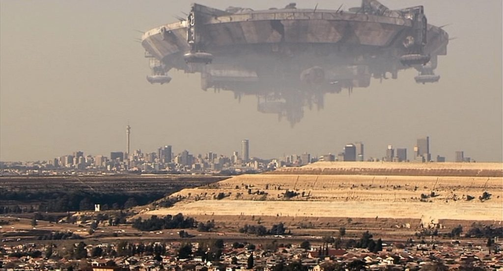 Ciudad Sud-africana película sobre aliens distrito 9