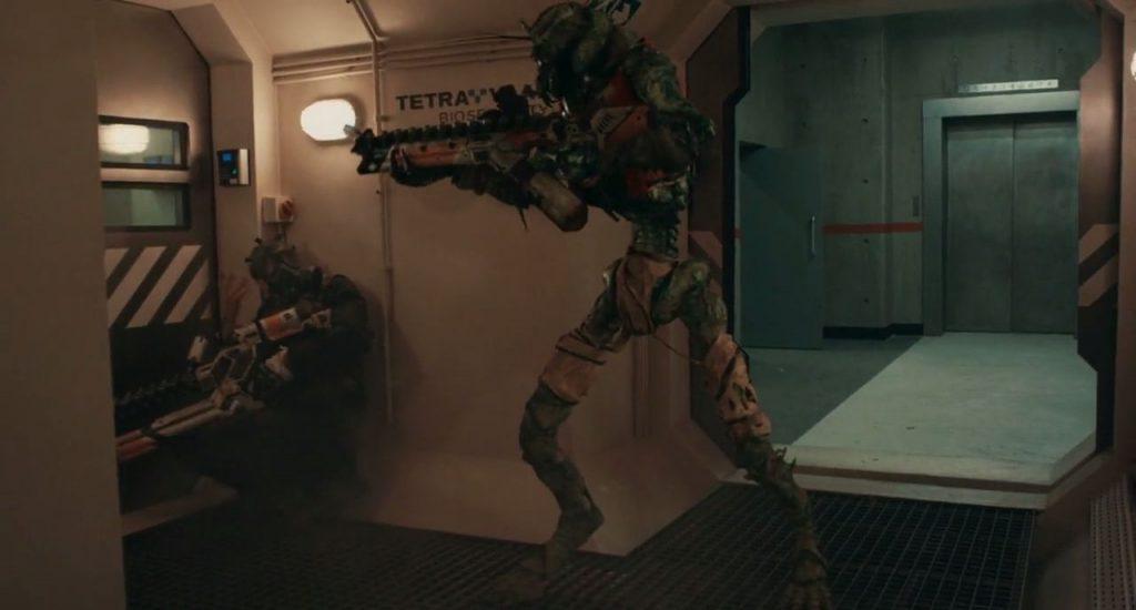 Armas alien en Sector 9 explicacion