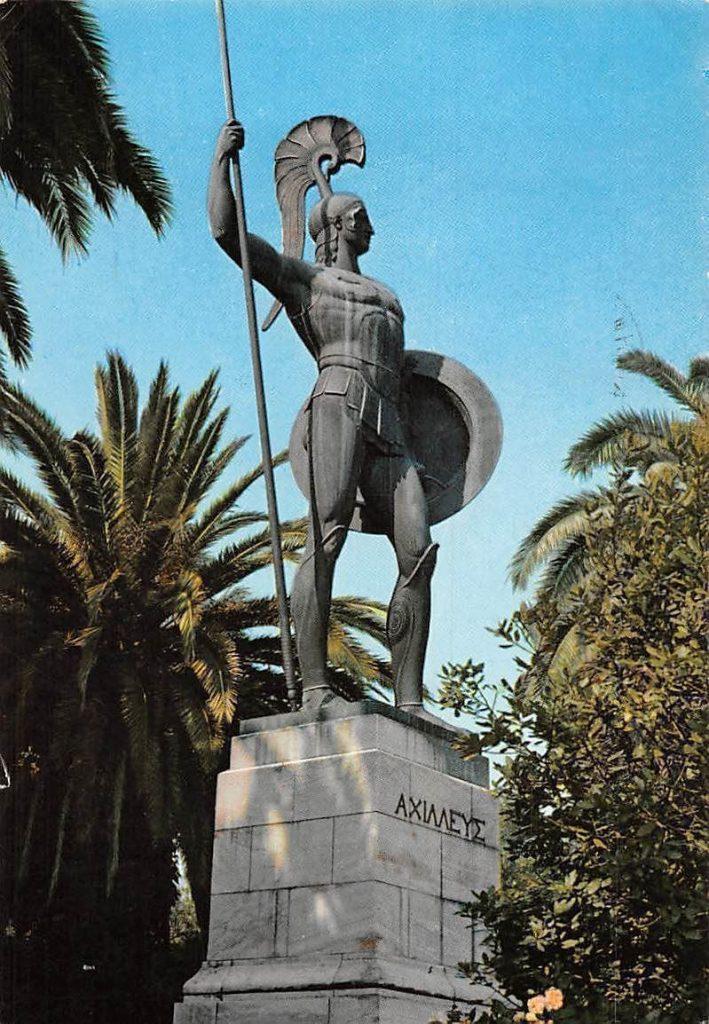 El Achilleion o Aquileón palacio en Grecia odisea de Homero