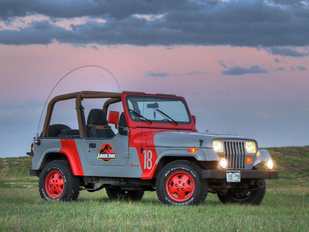 ¿Cuál es el coche de Jurassic World?