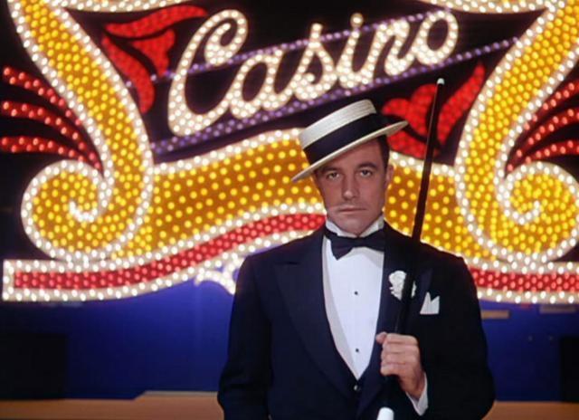 Cantanta, bailarín y director Gene Kelly