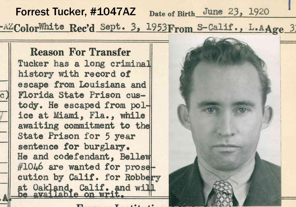¿Quién era Forrest Tucker?